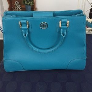 Tory Burch Teal Purse